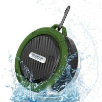 Taffware Mini Outdoor Bluetooth Speaker - C6 - Black