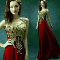 2. Gaun pesta /dress maxi long