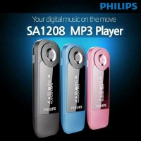 Mp3 Player Philips SA1208 - Memori 8GB - Radio FM - Earphone