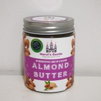 Honey Roasted Almond Butter Organik / Selai almond madu harvis castle - Smooth