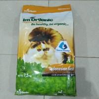 im organic best 7,5kg makanan kucing semua usia imo best GOJEK