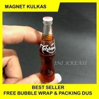 magnet kulkas miniature teh botol sosro