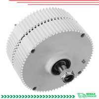 400W 12 / 24V Magnet Generator Turbin Angin Permanen