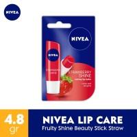 Nivea Lip Care Fruity Shine Beauty Stick Straw 4.8G