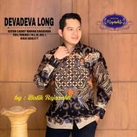Devadeva Long Kemeja Pria Batik Solo Full Furing By RajaSakti
