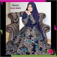 Dress Fashion Muslim Gamis Syari Monalisa Maxi Wulan Trend 2019