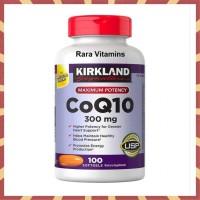 PROMO KIRKLAND SIGNATURE COQ10 300 MG 100 SOFTGELS SUPLEMEN JATUNG