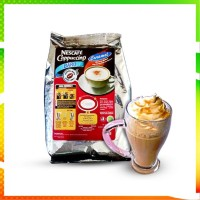 HOT NESCAFE CAPPUCION CARAMEL BY NESTLE PROFESSIONAL