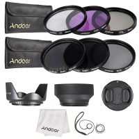 Jual ANDOER 52mm Kit Filter Lensa UV CPL FLD ND ND2 ND4 ND8