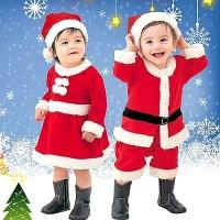 Baju Kostum Santa Natal Anak Bayi Balita Cosplay Baju Natal Murah