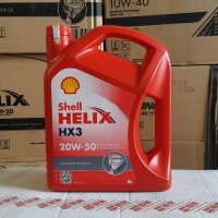 OLI MESIN MOBIL SHELL HELIX HX3 20W-50 4 LITER