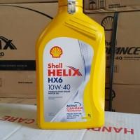 OLI MESIN MOBIL SHELL HELIX HX6 10W-40 1 LITER