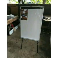 Papan Tulis / Flipchart Keiko Magnetic Uk 70 x 100