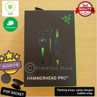 earphone headset gaming razer hammerhead pro v2.0 Original