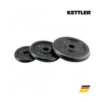 Kettler Plat Beban 10 KG Dumbell Plate Barbell Besi Barbel Dambel