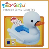 Bak Mandi Bayi Inflatable Bath Tub Baby Grow Swan