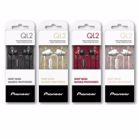 Pioneer SE-QL2T In-Ear Earphone Extra Bass with Microphone