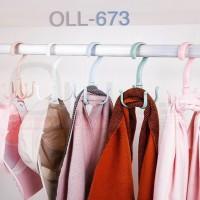 Gantungan Jemuran Sepatu dan Sandal Serbaguna (Shoes Hanger) OLL-673