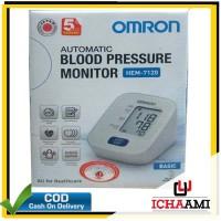 Omron Hem 7120 Tensimeter Digital Alat Tensi Pengukur Tekanan Darah
