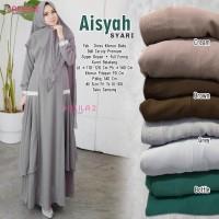 Baju Muslim Wanita Gamis Syari Aisyah Original