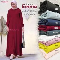 Baju Muslim Wanita Gamis Emma Busui Friendly