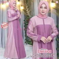 Baju Muslim Wanita Gamis Classica Salem Original Busui Friendly
