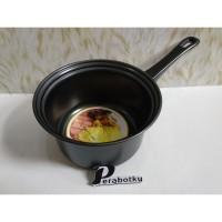 Sauce Pan Carin 16 Cm Hitam Anti Lengket / Milk Pan / Saucepan Carin