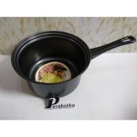 Saucepan Carin 18 Cm Hitam Anti Lengket / Milk Pan / Sauce pan Carin