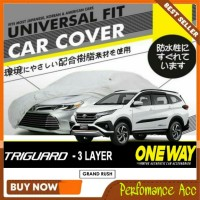 Sarung/Selimut/Body Cover Mobil Grand Rush Terios 3Lapis Waterproof