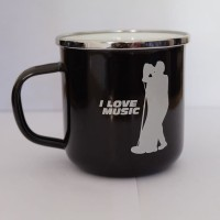 Cangkir Mug Stainless Motif Cita-cita