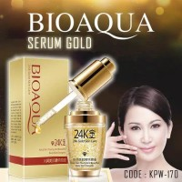 [30ml] BIOAQUA SERUM WAJAH EMAS 24K GOLD ESSENCE / BIOAQUA 24K GOLD SK