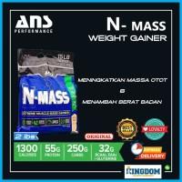 Suplemen Fitness ANS N Mass 2 lbs NMass Weight Gainer Whey Eceran