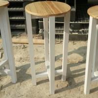 bangku bar/bangku konter/bangku furniture/bangku kayu jati belanda