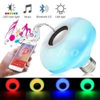 Lampu Disco AUshoponline Smart LED Music Bulb Wireless APP Control Por