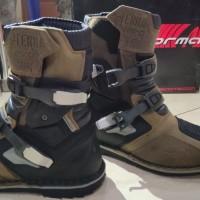 Sepatu Motor Touring Boots Forma Terra Evo Low Brown Coklat Waterproof