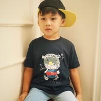 Kaos Anak - Anak Navy  L082 - Superhero Tee