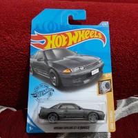 Hotwheels Nissan Skyline GT R BNR32 Grey