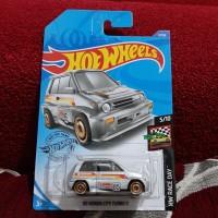 Hotwheels 85 Honda City Turbo II Grey