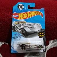 Hotwheels Batmobile Silver Batman