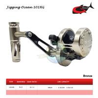 Reel OH G-Tech Jigging Ocean 101HG - Bronze