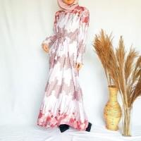 baju gamis wanita nabire emikoawa muslim