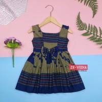BATIK Dress Clairine Baby Uk 6-12 Bulan / Baju Fashion Pesta Dres Anak