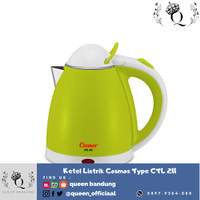 COSMOS Ketel Listrik ELECTRIC KETTLE 0.8 liter CTL 211 TEKO OTOMATIS