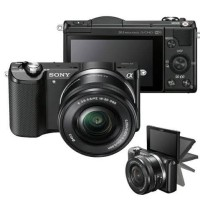 Kamera Mirrorless Sony Alpha A5000 / Sony A5000 kit 16-50mm Black