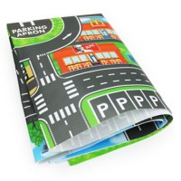 Mainan Peta Jalan Perkotaan Parkir untuk Mobil-mobilan Anak-anak DIY N