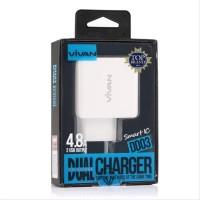VIVAN Adaptor Charger DD03 Dual Usb 4.8A Original
