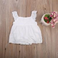 Newborn Baby Girls Kids Clothes Cotton Bodysuit Romper Jumpsuit Playsu