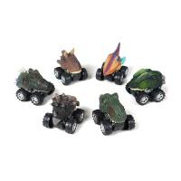 Mainan Mobil Dinosaurus Pull Back untuk Hadiah Natal Anak Laki-laki Pe