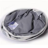 Pelapis Kursi Makan Bayi Bahan Nilon Anti Air Warna Abu-Abu Ukuran 75x