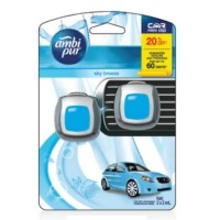 Ambipur Mini Clip 2 x 2 mL Sky Breeze Pengharum Mobil